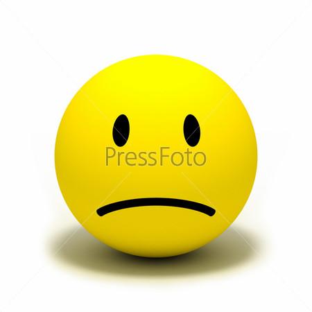 картинки смайлика грустного